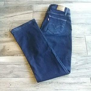 Levis 529 curvy bootcut dark blue jeans  size 4